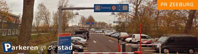 P+R zeeburg Amsterdam parkeren