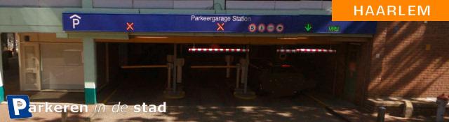 Parkeergarage haarlem station