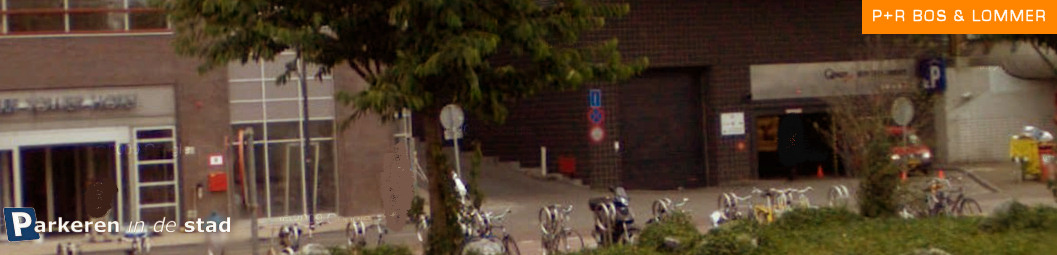 P+R bos en lommer Amsterdam parkeren