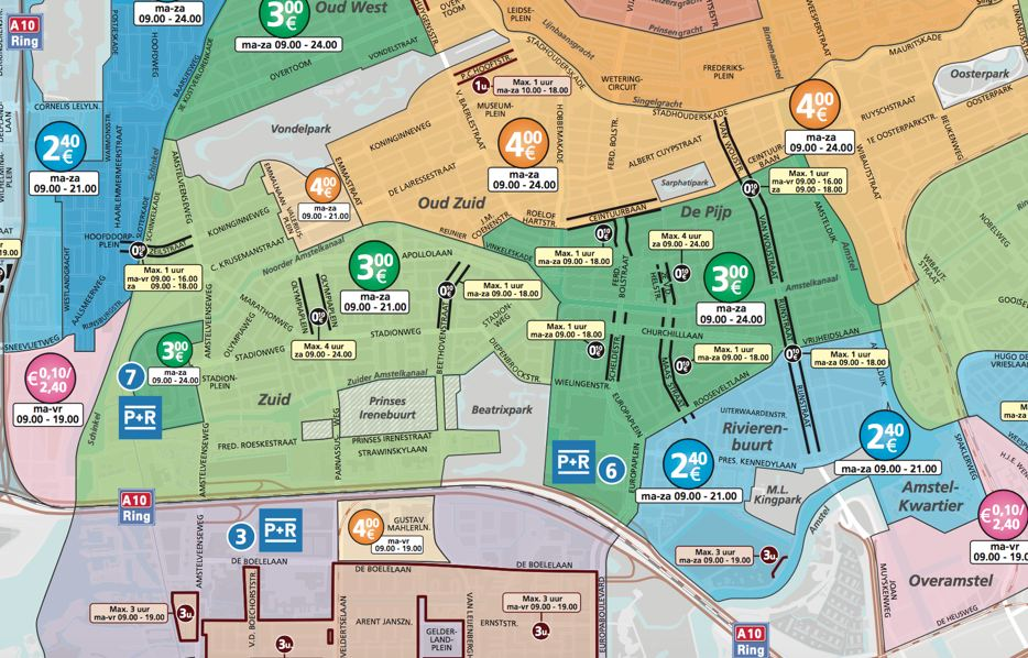 Parkeren Rivierenbuurt Amsterdam Parkeertarieven